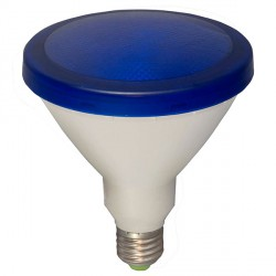 Bell Lighting 15W Non-Dimmable E27 Blue Coloured PAR38 LED