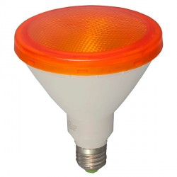 Bell Lighting 15W Non-Dimmable E27 Yellow Coloured PAR38 LED