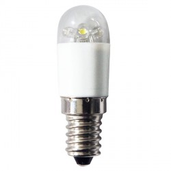 Bell Lighting 1W Cool White Non-Dimmable E14 Clear LED Appliance Bulb