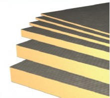Heat Mat 10mm Concrete Coated Thermal Insulation Boards (4-Pack)