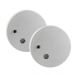 Kidde Lifesaver i9040-Twin Compact Smoke Alarm (Twin Pack)