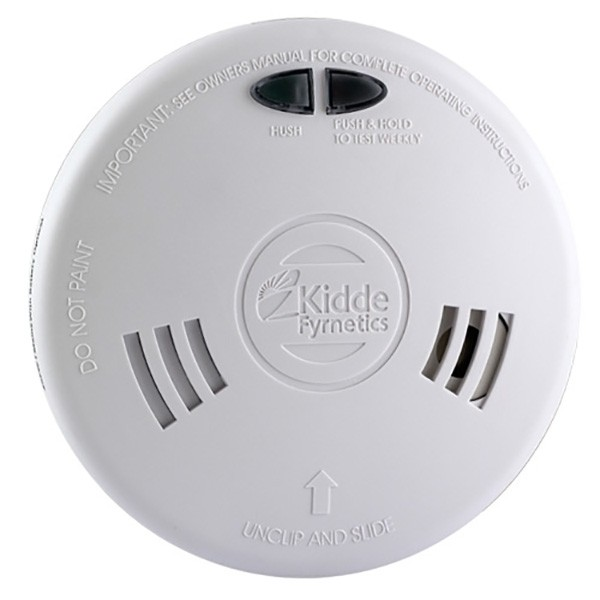 kidde slick 1sfw ionisation smoke alarm with wireless capability at uk electrical supplies. Black Bedroom Furniture Sets. Home Design Ideas