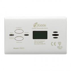 Kidde 7DCO 10-year Carbon Monoxide Alarm with Digital Display