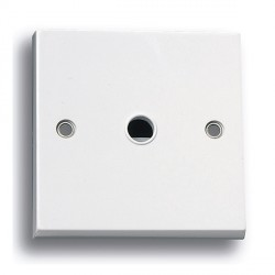 Selectric Square LG960 20A Flex Outlet - Centre and Side Entry
