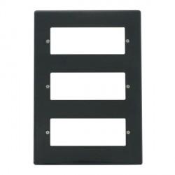 Click Part M Anthracite Grey 18 MiniGrid Module Plate