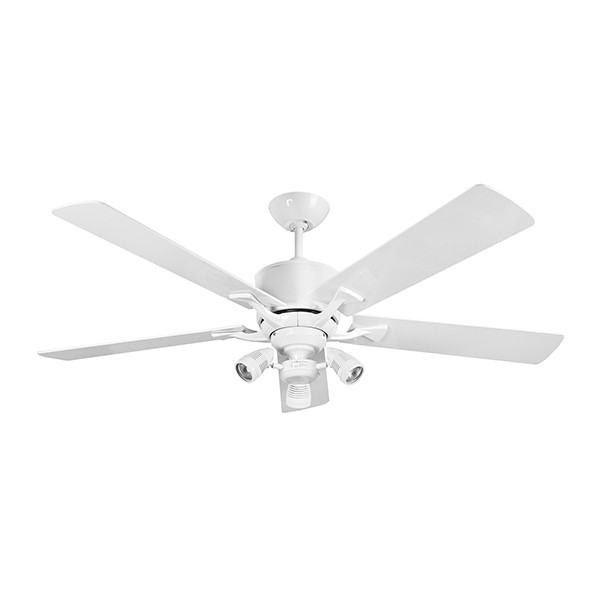 Fantasia Delta 52 Inch Remote Control Gloss White Low Energy Ceiling