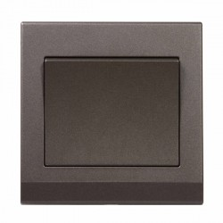 Retrotouch Simplicity Charcoal 1 Gang 2 Way Mechanical Light Switch