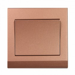 Retrotouch Simplicity Bronze 1 Gang 2 Way Mechanical Light Switch