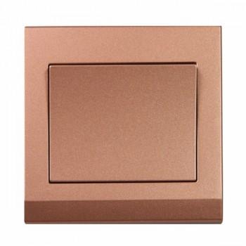 Retrotouch Simplicity Bronze 1 Gang 2 Way Mechanical Light Switch