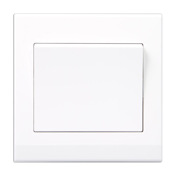 Retrotouch Simplicity White 1 Gang 2 Way Retractive Light Switch at ...