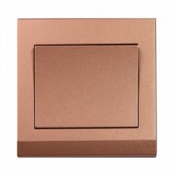 Retrotouch Simplicity Bronze 1 Gang Intermediate Mechanical Light Switch