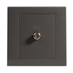 Retrotouch Simplicity Charcoal Satellite Socket