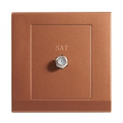 Retrotouch Simplicity Bronze Satellite Socket