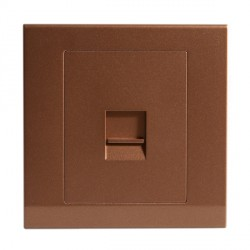 Retrotouch Simplicity Bronze BT Master Telephone Socket