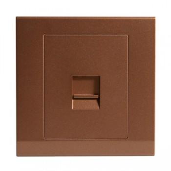 Retrotouch Simplicity Bronze BT Slave Telephone Socket