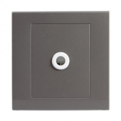 Retrotouch Simplicity Mid Grey 25A Connection Unit Flex Outlet