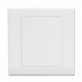Retrotouch Simplicity White Blank Plate