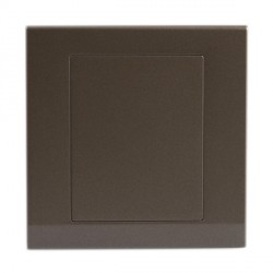Retrotouch Simplicity Charcoal Blank Plate