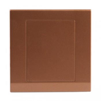 Retrotouch Simplicity Bronze Blank Plate