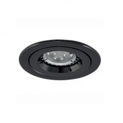 Ansell iCage Mini 50W Fixed GU10 Black Chrome Downlight