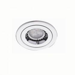 Ansell iCage Mini 50W Fixed GU10 Chrome Downlight