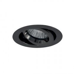 Ansell iCage Mini 50W Gimbal GU10 Black Chrome Downlight