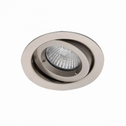 Ansell iCage Mini 50W Gimbal GU10 Satin Chrome Downlight