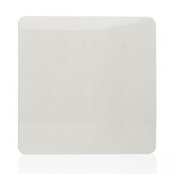 Trendi White 1 Gang Blank Plate