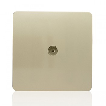Trendi Gold TV Co-axial Socket