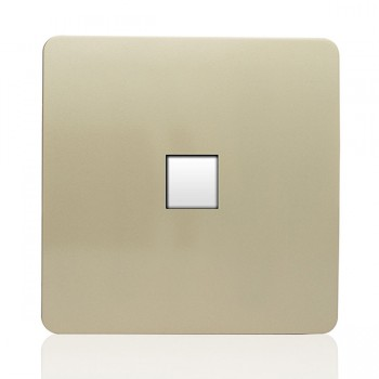 Trendi Gold 1 Gang Ethernet Socket