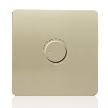 Trendi Gold 1 Gang 1 Way Dimmer Switch