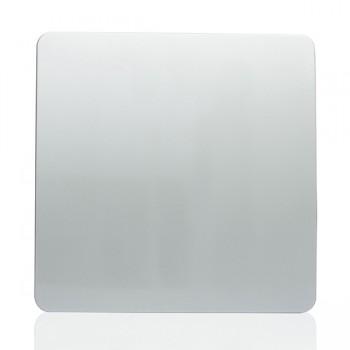 Trendi Silver 1 Gang Blank Plate
