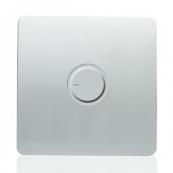 Trendi Silver 1 Gang 1 Way Dimmer Switch