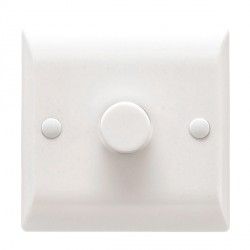 Hamilton Vogue 400W 1 Gang 2 Way Resistive Dimmer Switch