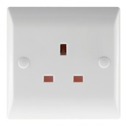 Hamilton Vogue 13A 1 Gang Unswitched Socket