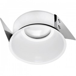 Aurora Lighting White Slimtrim Baffle Bezel for mPro and m10 LED Downlights