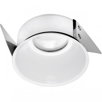 Aurora Lighting White Slimtrim Baffle Bezel for mPro LED Downlights