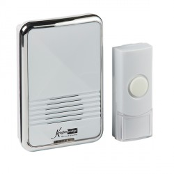 Knightsbridge White Plug-In Wireless Door Chime