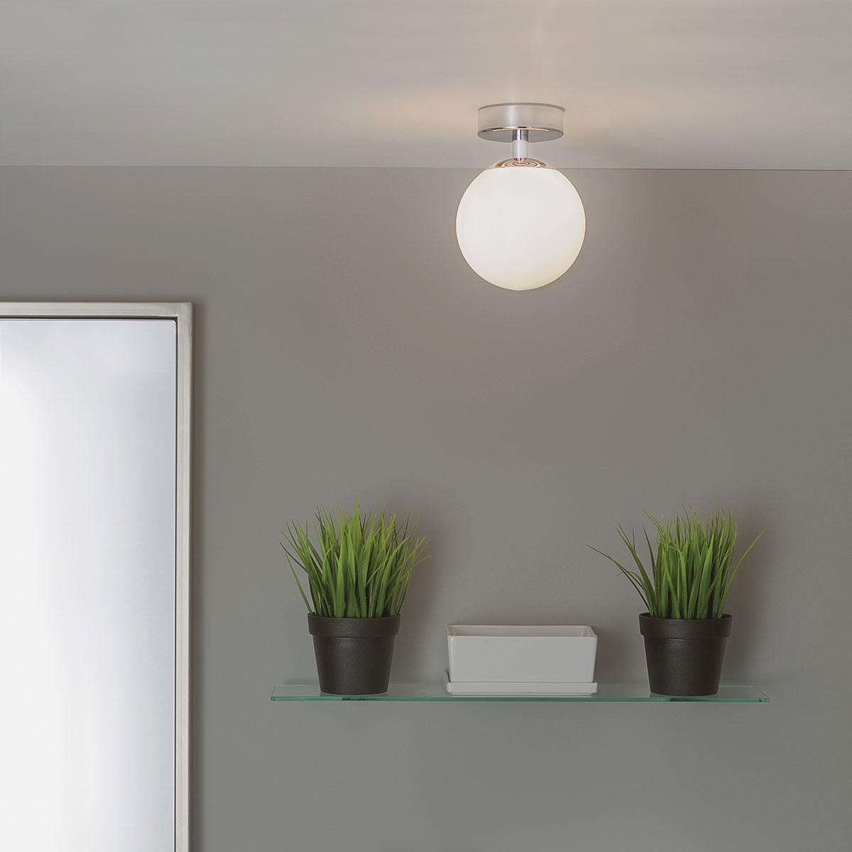 Light Fixtures Denver: Astro Denver Polished Chrome Ceiling Light At UK