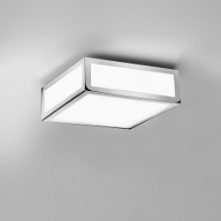 Astro Mashiko 200 Polished Chrome Bathroom Ceiling Light