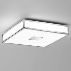 Astro Mashiko 400 Polished Chrome Bathroom Ceiling Light