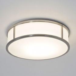 Astro Mashiko 300 Round Polished Chrome Bathroom Ceiling Light