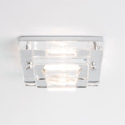 Astro Frascati Square GU10 Polished Chrome Bathroom Downlight