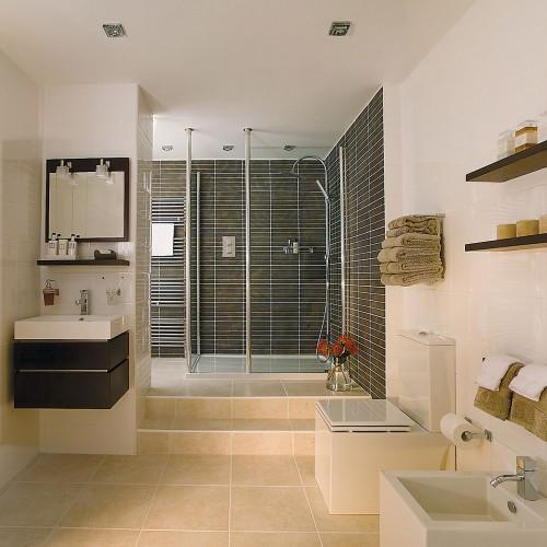 Astro Frascati Square GU10 Polished Chrome Bathroom Downlight