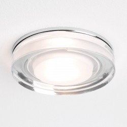 Astro Vancouver Round GU10 Polished Chrome Bathroom Downlight