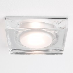 Astro Vancouver Square GU10 Polished Chrome Bathroom Downlight