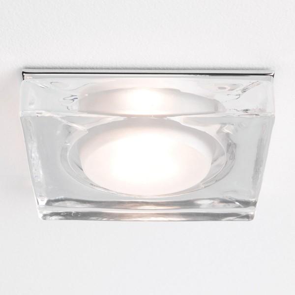 Astro Vancouver Square GU10 Polished Chrome Bathroom Downlight