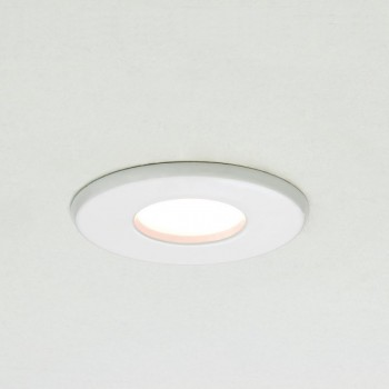 Astro Kamo MR16 White Bathroom Downlight