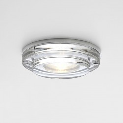 Astro Mint Round GU10 Polished Chrome Bathroom Downlight