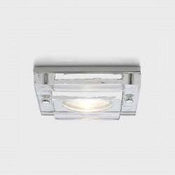 Astro Mint Square GU10 Polished Chrome Bathroom Downlight